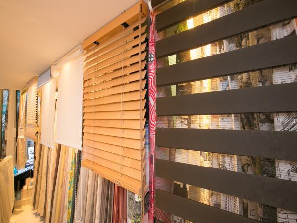 京都のオーダーカーテンショールーム