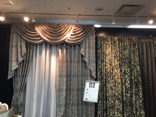 フロント装飾カーテン