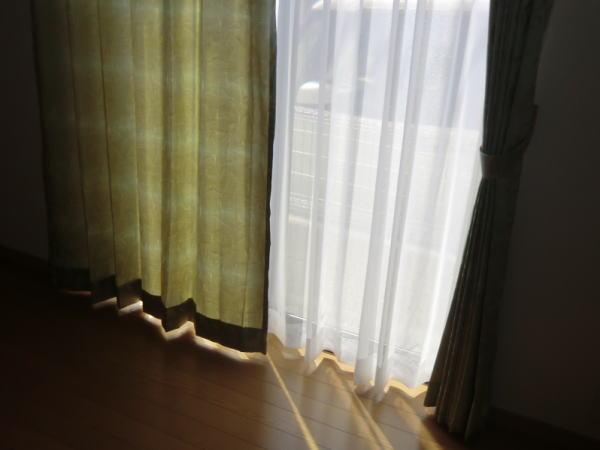 オーダーカーテン(2倍ヒダ、3つ山プリーツ)