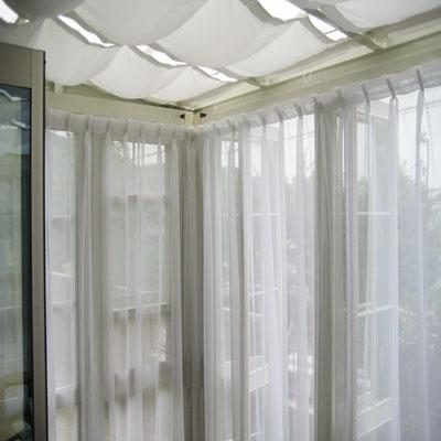 オーガンジーレースカーテン
