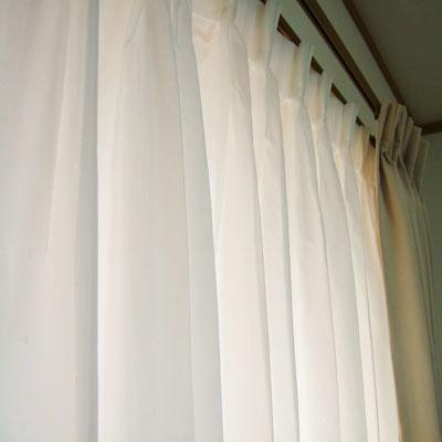 とても綺麗なカーテンですね
