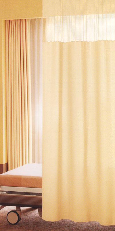 上部メッシュカーテン