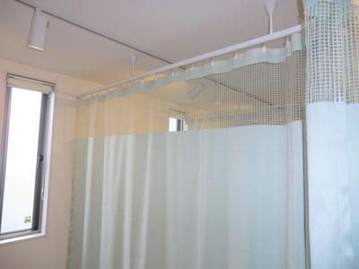 エコ機能付きカーテン