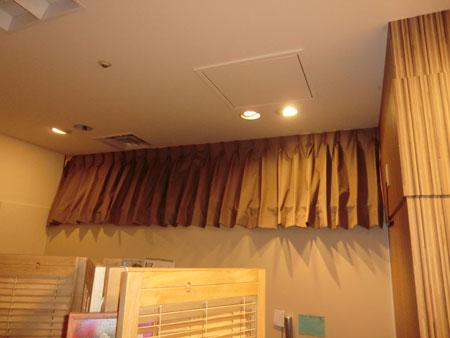 音を遮断するカーテンの機能