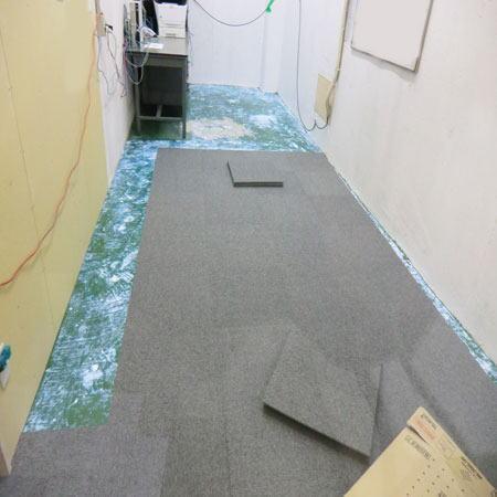 店舗や事務所にカーペットタイル
