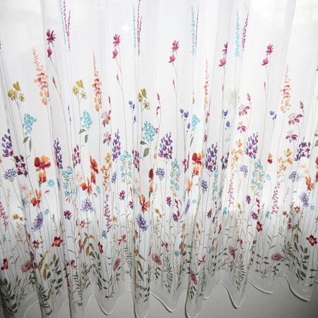 スミノエ社製刺繍レースカーテン
