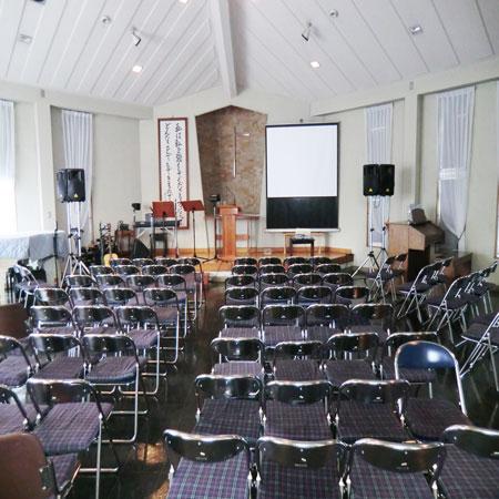 シア-スタイルカーテン納品-京都長岡京市内教会