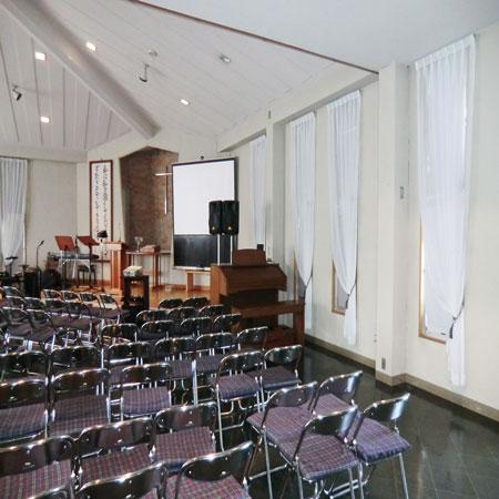 教会へカーテン納品