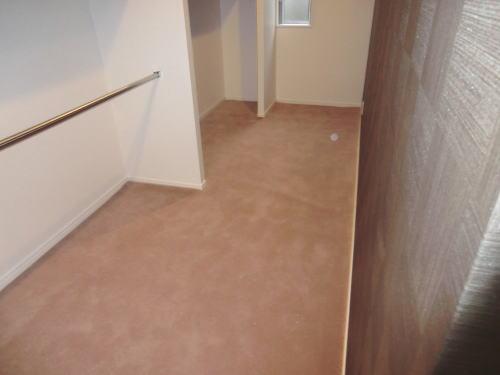 小部屋にもカーペット施工