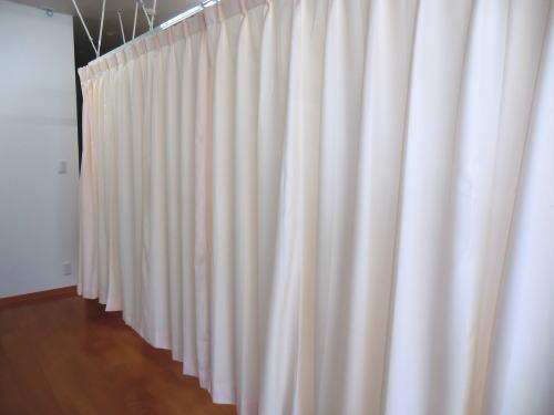 京都市下京区の整体医院にカーテン納品