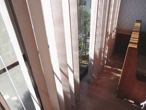 ニチベイ社、縦型ブラインド納品、京都