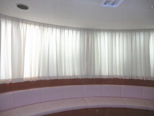 長岡京市内医療関係へカーテン納品