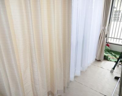 長岡京市のリノベーション住宅にオーダーカーテン納品