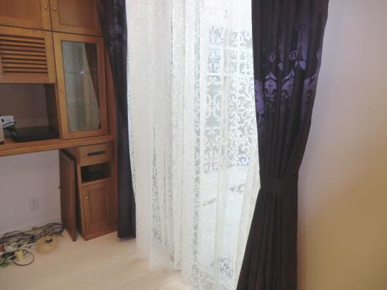 2重吊りオーダーカーテン