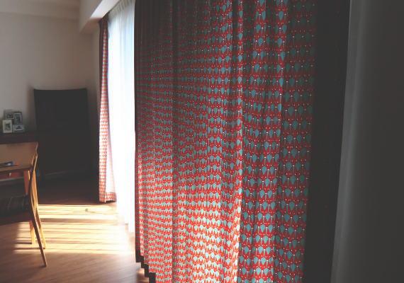 滋賀県大津市に北欧厚手カーテン