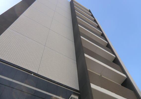 滋賀県のマンション(集合住宅)、リビングにオーダーカーテン納品