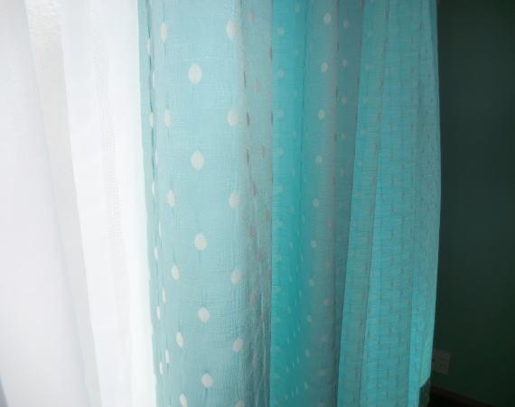 お洗濯可能なオーダーカーテン