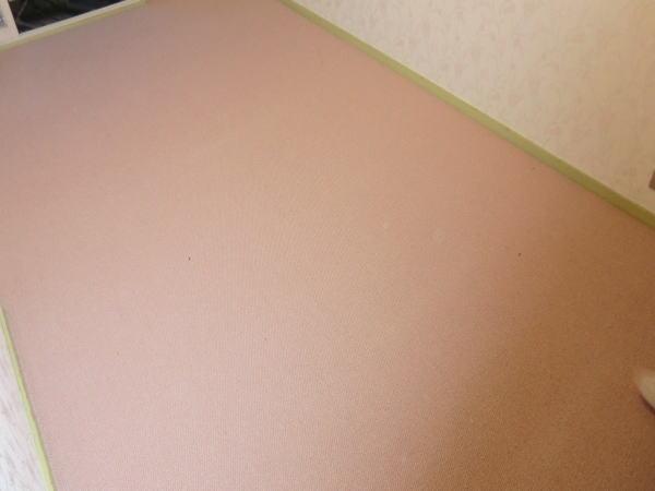 カーペット敷き込み工事納品