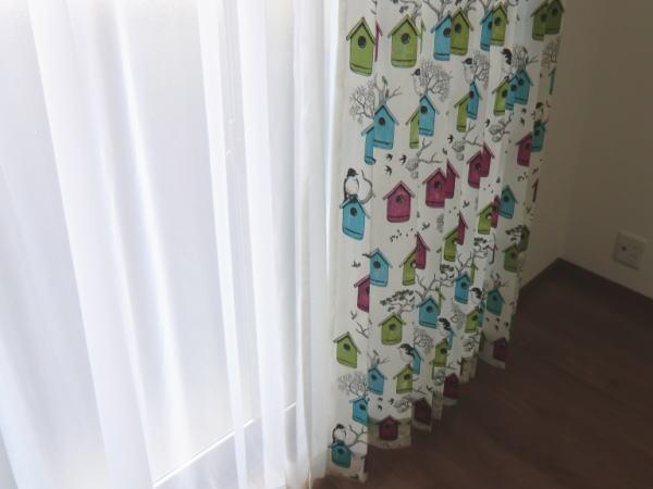 2重のオーダーカーテン