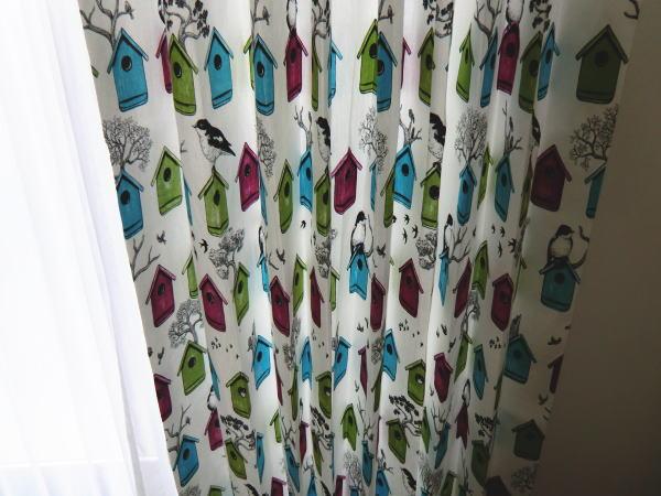 綿素材のオーダーカーテン