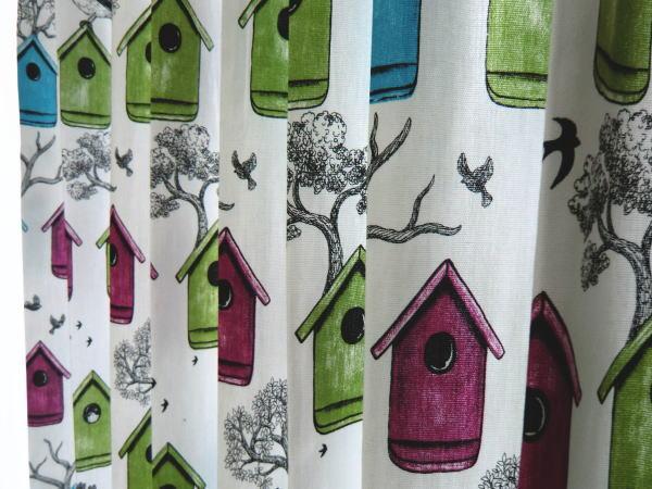 アルビッドソンテキスタイルのカーテン