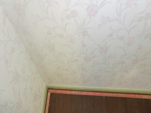 戸建て住宅で壁紙工事
