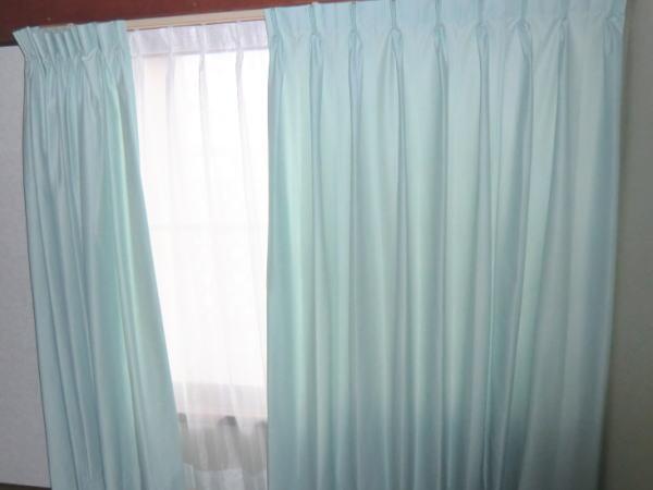 ブルーなオーダーカーテン