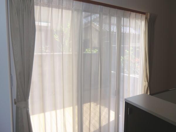 京都府の戸建て住宅へオーダーカーテン納品
