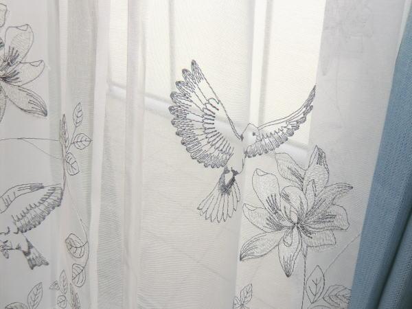 エンブロイダリーオーダーカーテン