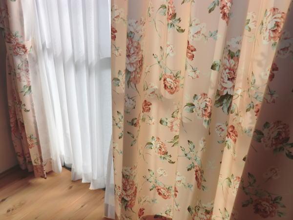 厚手カーテン、オーガンジーレースカーテン
