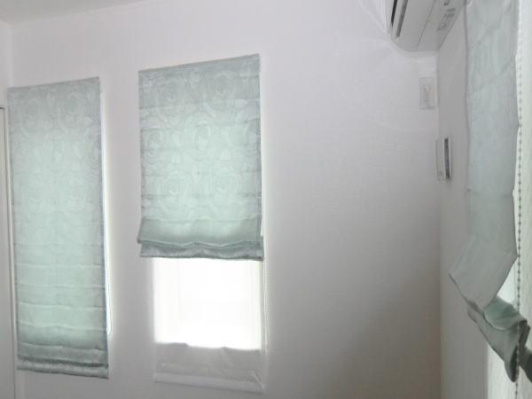 2連窓タイプにプレーンシェード