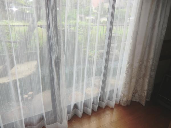 洗える機能付きオーダーレースカーテン