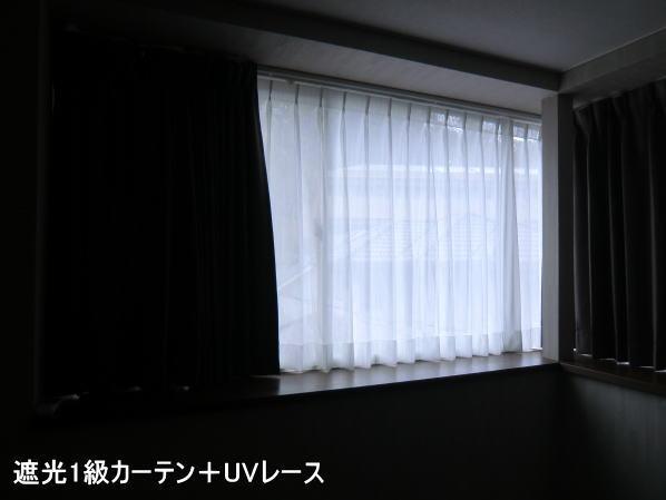 遮光カーテン(京都の戸建て住宅)