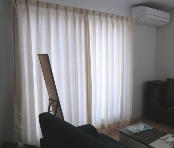 東リ社オーダーカーテン