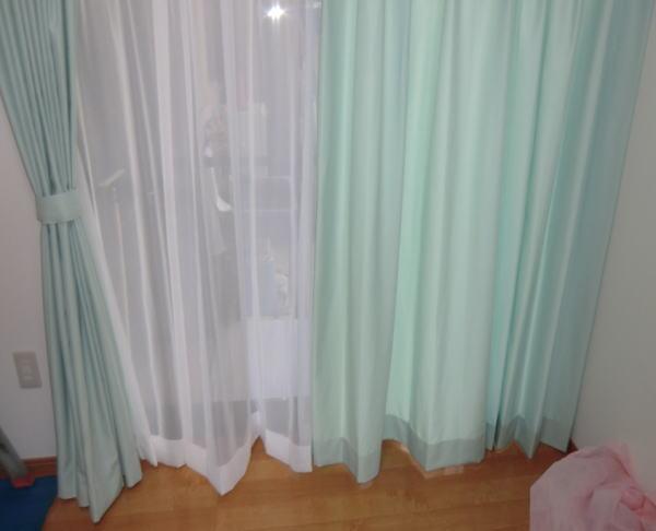 カーテンの仕上がり寸法は裾が全てです