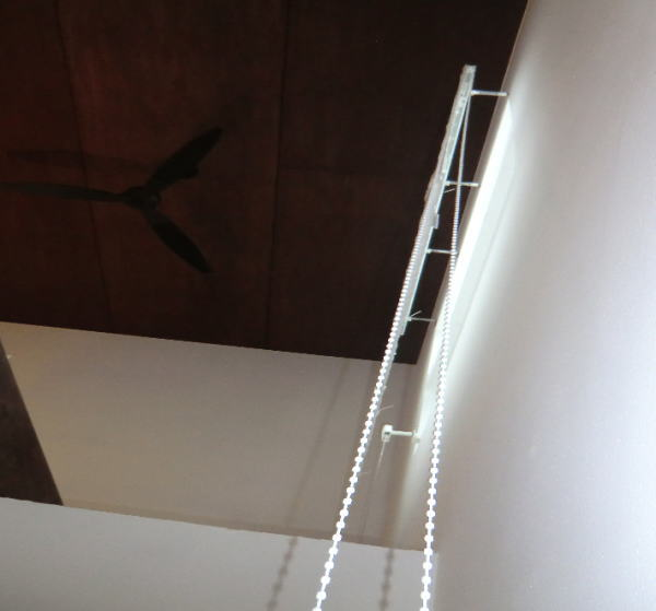 京都市西京区の木造戸建て新築住宅へプレーンシェード納品