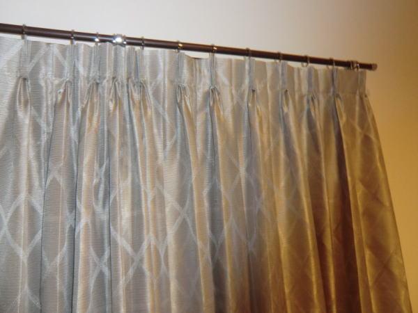 装飾レール+オーダーカーテン納品