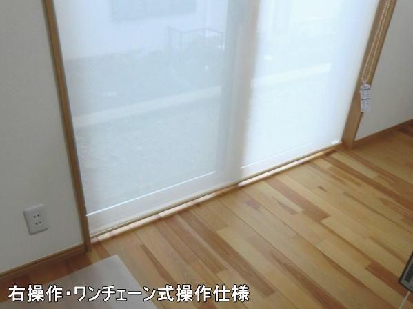 ダブルタイプロールスクリーン納品(ニチベイ社)