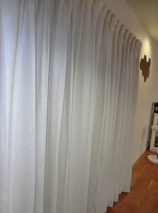 プレーン色のオーダーカーテン納品