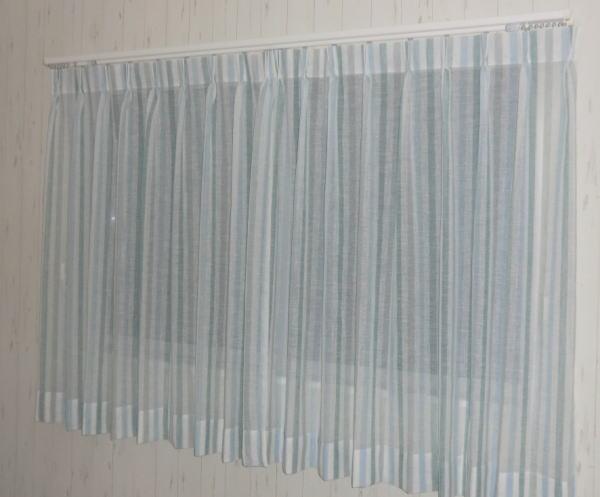 機能について、紫外線カット機能付きレースカーテン