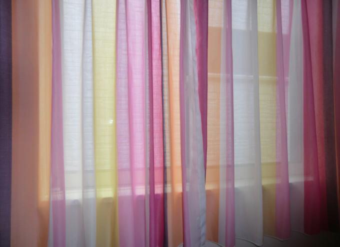 京都市北区の木造一戸建て住宅へオーダーカーテン納品(京都ジョイリビングイトオ)