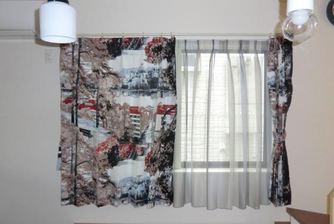 VALLILA、ジャイバスBR、オーダーカーテン(京都市左京区、住宅納品)