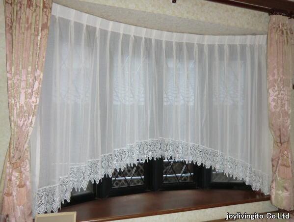 アーチスタイルカーテン納品(京都府八幡市戸建て住宅)