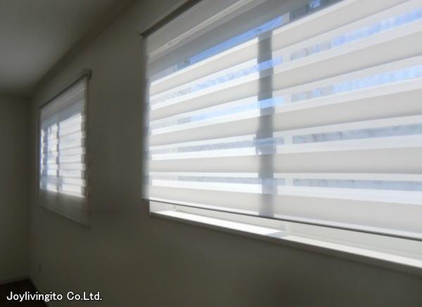 戸建て御新築住宅に縦型ブラインド・調光スクリーン納品