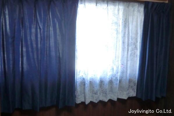 ドレープは遮光性のオーダーカーテン納品