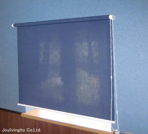 ニチベイ社ロールスクリーン取り付け納品(壁紙とコーディネート)納品