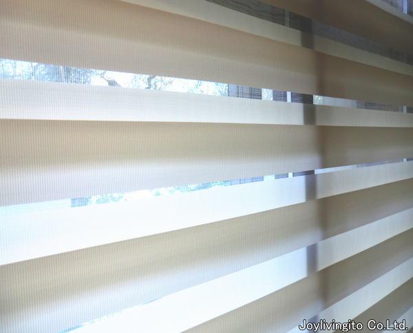 光のコントロール、京都府長岡京市内、戸建て住宅ね調光ロールスクリーン納品